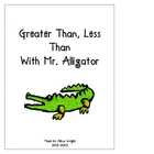 Greater Than, Less Than with Mr. Alligator