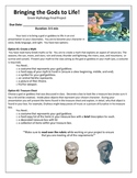 Greek Mythology Final Project with Rubric