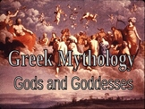 Greek Mythology Powerpoint - Olympic + other Gods w/ pictu