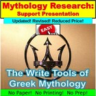 Greek Mythology Research Writing Tools
