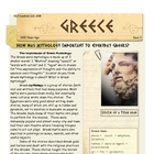Greek Myths & their importance Greece by Don Nelson
