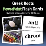 Greek Roots PowerPoint Flash Cards