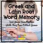 Greek and Latin Root Word Memory