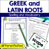 Greek and Latin Word Root Spelling and Vocabulary Program
