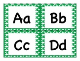 Green Star Word Wall Words