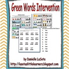 Green Words Intervention (1 school license)
