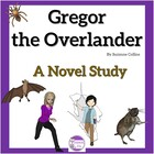 Gregor The Overlander Novel Study with Quizzes, Vocab, and