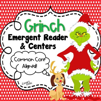Grinch Emergent Reader & Centers