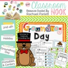 Groundhog Day Activities {Math and Literacy}