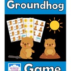 Groundhog Day Addition and Subtraction Game