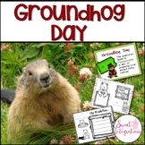 Groundhog Day - Informational PowerPoint and Literacy Activities