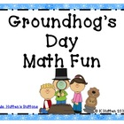 Groundhog Day Math Fun Freebie