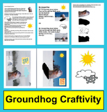 Groundhog Day Poem/Song with Craft Activity:  Directions,