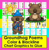 Groundhog Day Poems, Songs Fluency/Shared Reading + Pictur