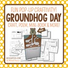 Groundhog Day {Pop-up Craftivity, Mini-book and More!}