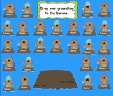 Groundhog's Day. Attendance Interactive Flipchart for Prom