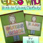 Guess Who! Books {Back to School Craftivity}