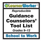 Guidance Counselors' Tool List