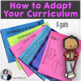 Guide to Curriculum Adaptation Differentiated Instruction & UDL