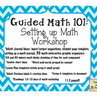 Guided Math 101: Setting up Math Workshop