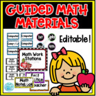 Guided Math Workstation Management Set