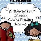 Guided Reading Basics: A how-to for 20 min. groups!