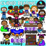 Guided Reading Clip Art Bundle