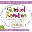 Guided Reading FREEBIE SET!
