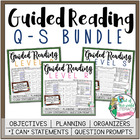 Guided Reading Grade 4 Bundle {Levels Q-S} Bonus: Suggeste
