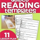 Guided Reading Lesson Plan Template Bundle (for any Leveled book)