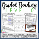 Guided Reading Level O Teacher Packet: Just add the Books