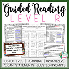 Guided Reading Level R Teacher Packet: Just add the Books