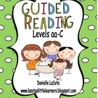 Guided Reading Levels aa-C