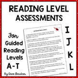 Guided Reading Awards and Parent Handouts for Text Levels A - L