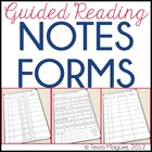 Guided Reading Notes Form