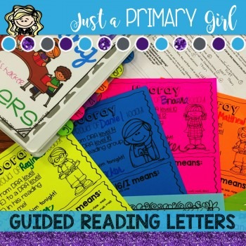 Guided Reading Parent Communication Awards & Letters thru DRA 16 GRL I