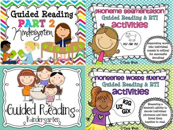 Guided Reading & RTI {Kindergarten} DELUXE BUNDLE