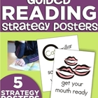 Guided Reading Strategy Posters for Kindergarten
