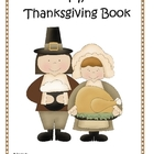 Guided Writing Thanksgiving Book