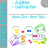 Guiding Kinders:  Math Workshop Unit 4 { Common Core Aligned }