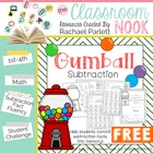 Gumball Subtraction - A Fun Way for Students to Learn Thei