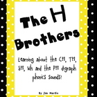 H Brothers (CH, TH, SH, Wh and PH) Posters, Book, and Tier
