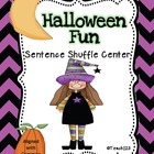 HALLOWEEN Fluency Center: Sentence Shuffle - aligned with CCSS