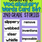 HM Journeys - Vocabulary Lists Word Cards Set   {Second Grade}