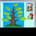 HMR Grade 1 Theme 04 Story 1 - Family Tree Activity w/ SMA
