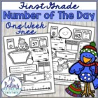 HOLIDAY FREEBIE {Happy Snow Buddies} Number of the Day
