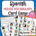 HOUSE/GAMES:  Vocab Card Game and Template