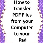 HOW TO... Transfer Worksheets to your iPad