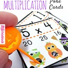 "H""OWL""oween Owl Poke Multiplication Facts 1-12"