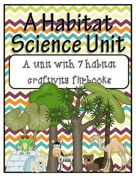 Habitat Flipbooks (7 World Habitats)